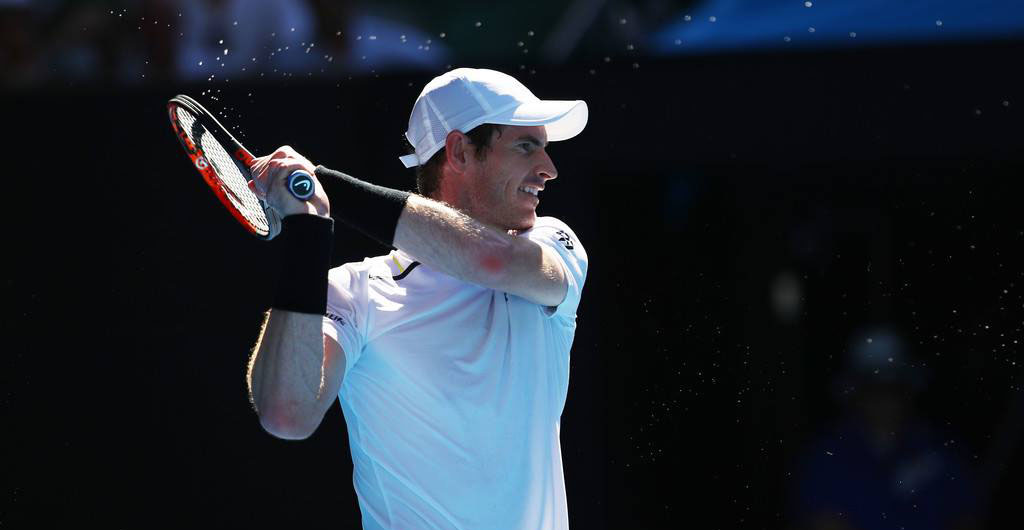 Andy Murray en el Australian Open