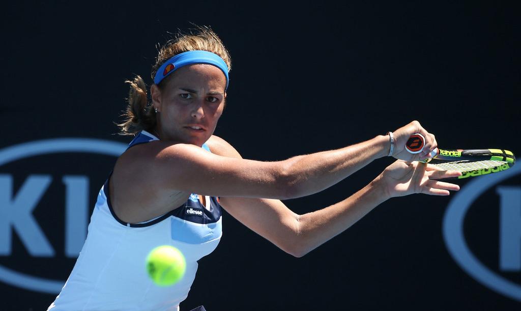 Monica Puig en el Australian Open