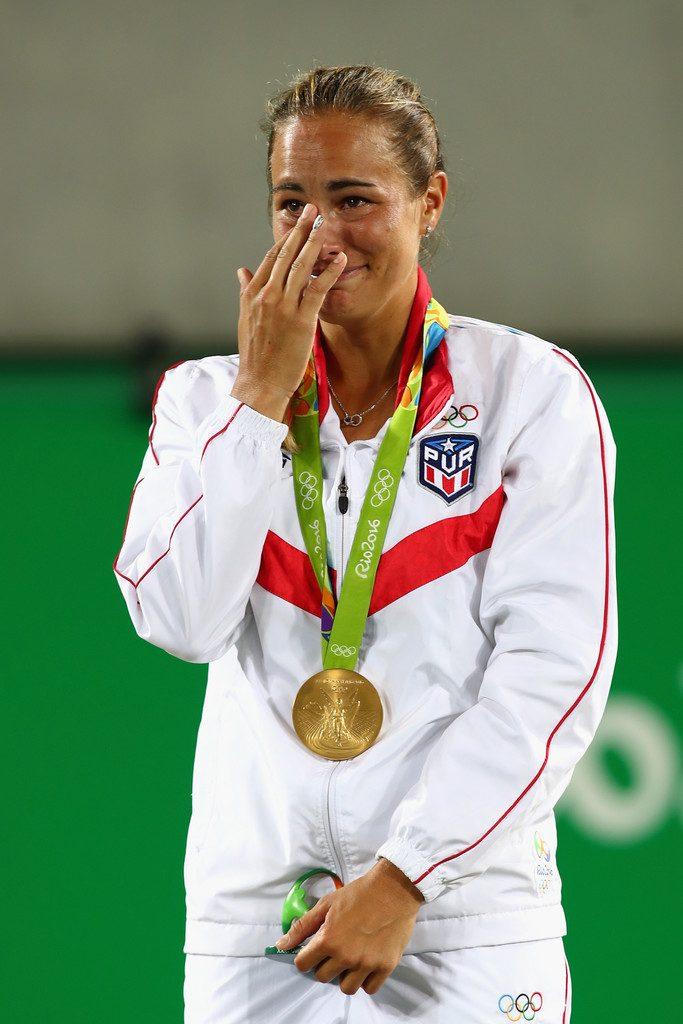 Monica Puig en Rio