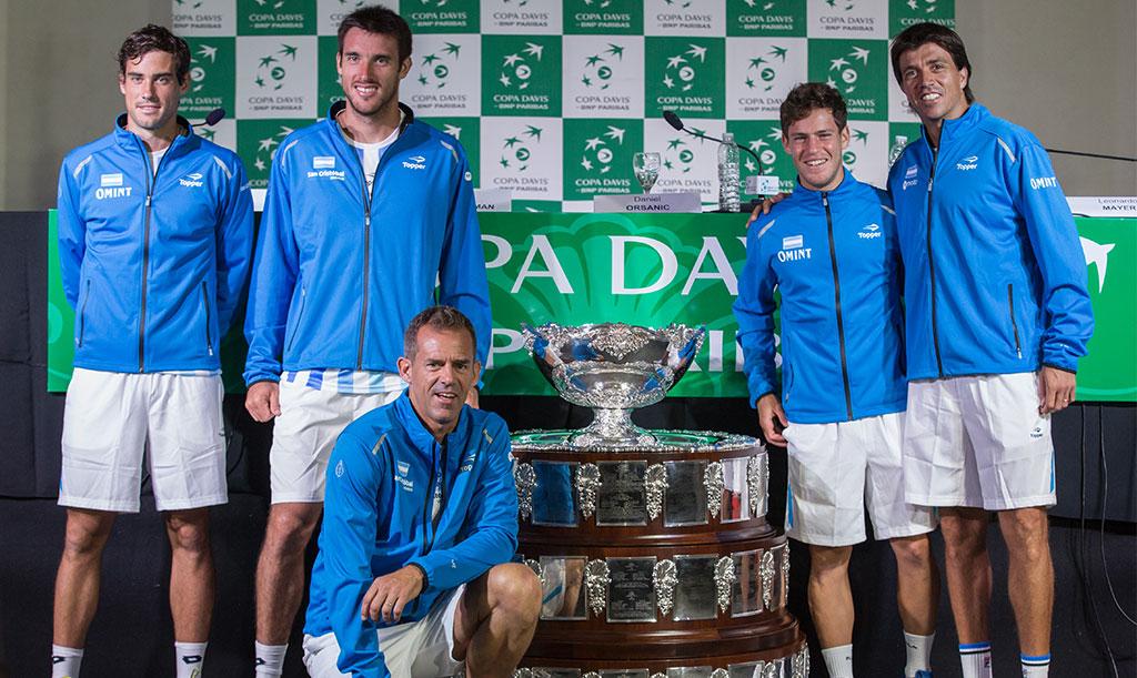 El equipo argentino y la Copa Davis