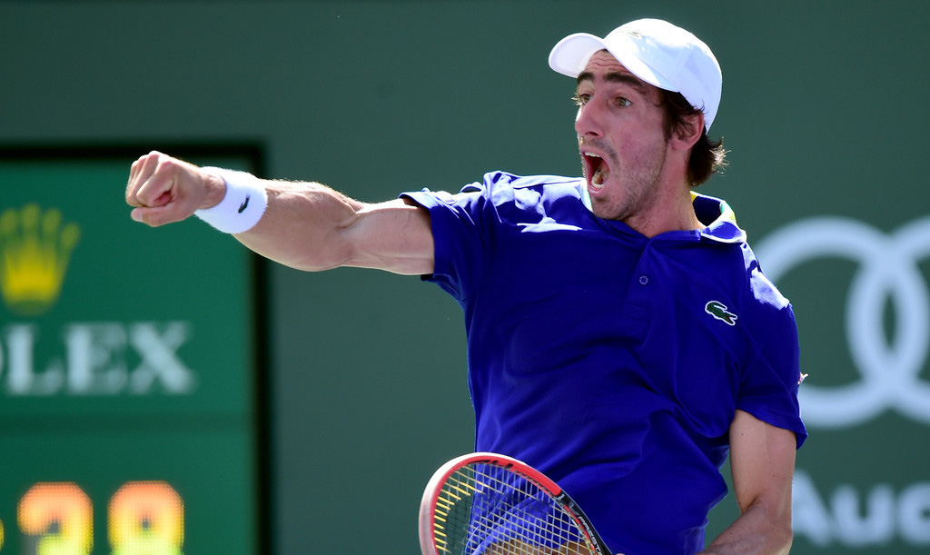 Pablo Cuevas en Indian Wells