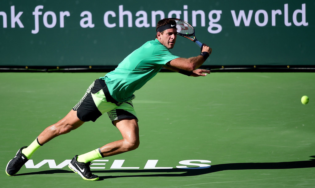 Juan Martín del Potro en Indian Wells
