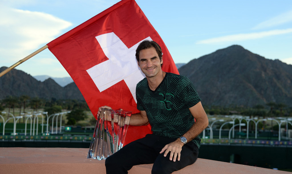 Roger Federer, campeón de Indian Wells