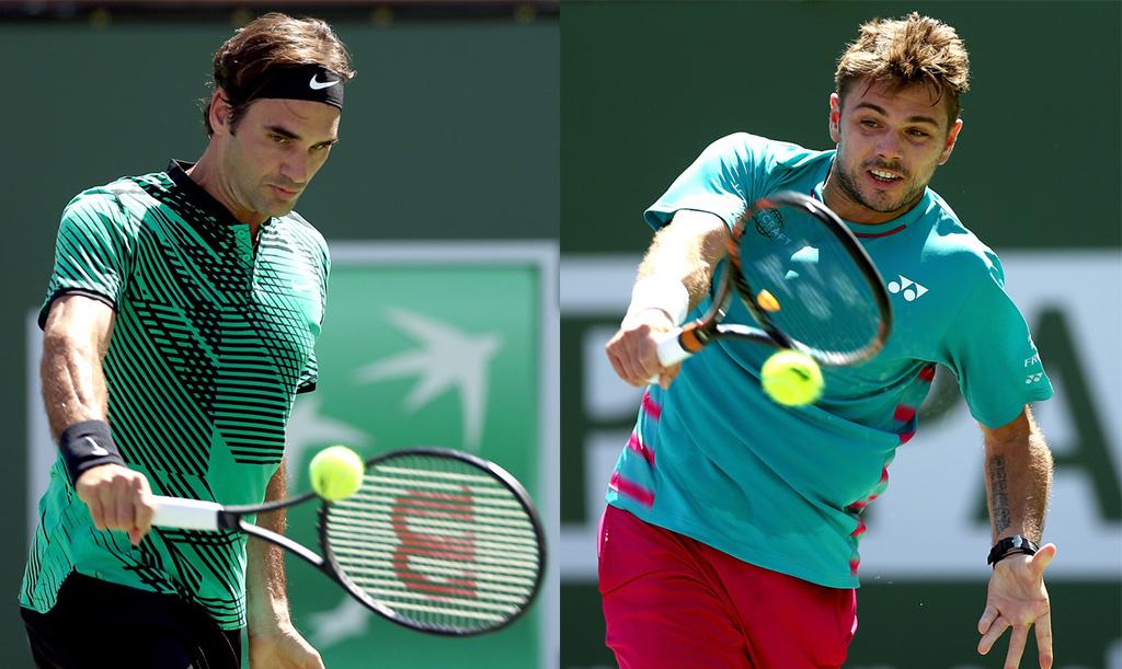 Federer vs Wawrinka: final 100% suiza en Indian Wells