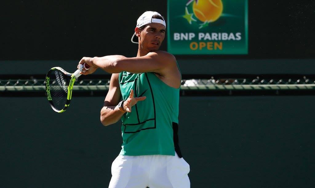 Rafael Nadal en Indian Wells