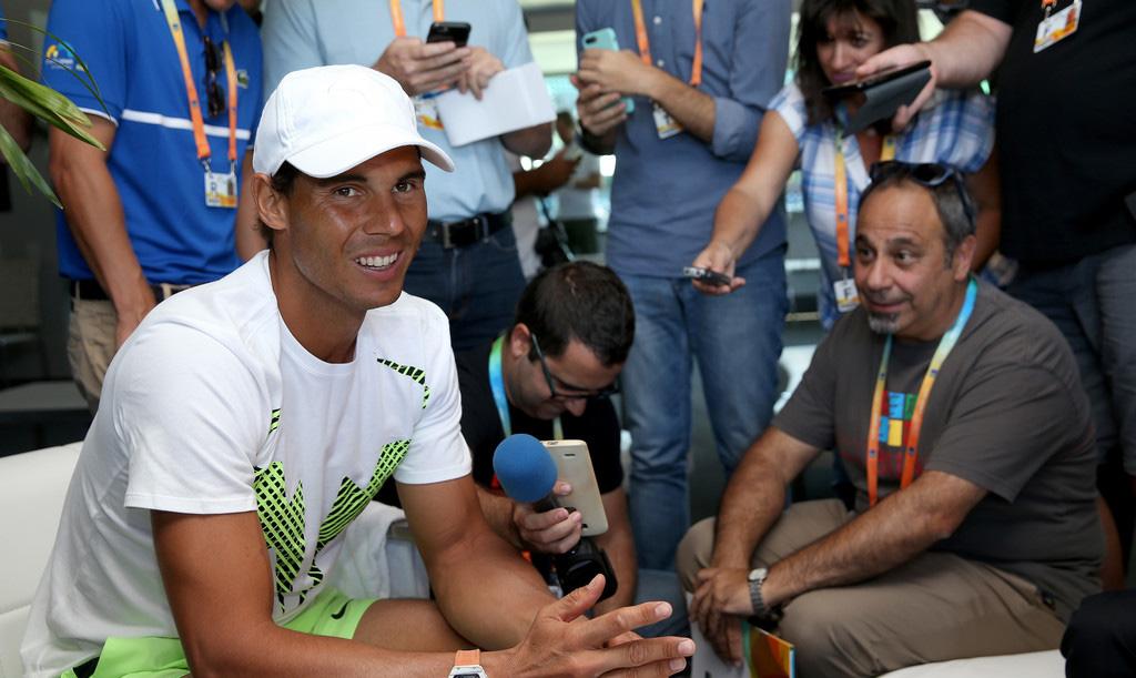Rafael Nadal en el Miami Open