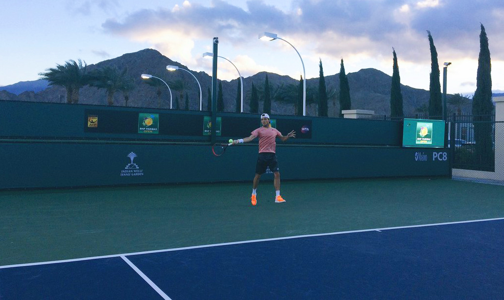 Juan Mónaco en Indian Wells