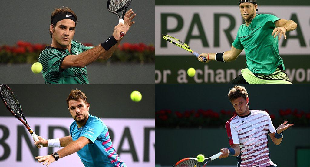 Los semifinalistas de Indian Wells 2017