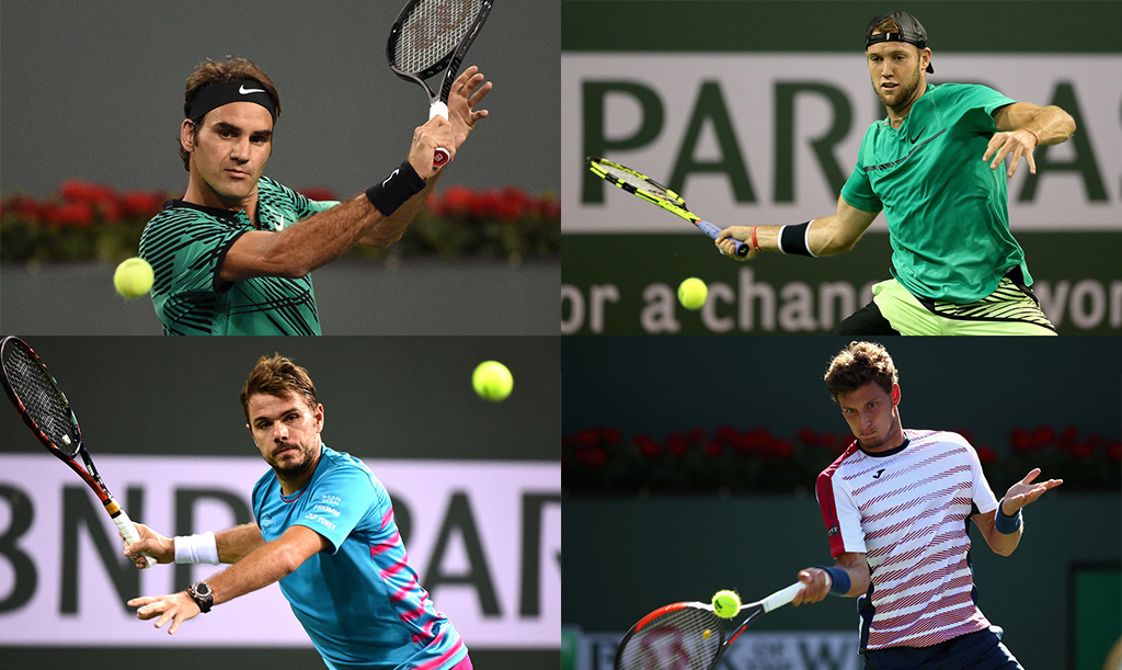 Los semifinalistas de Indian Wells 2017