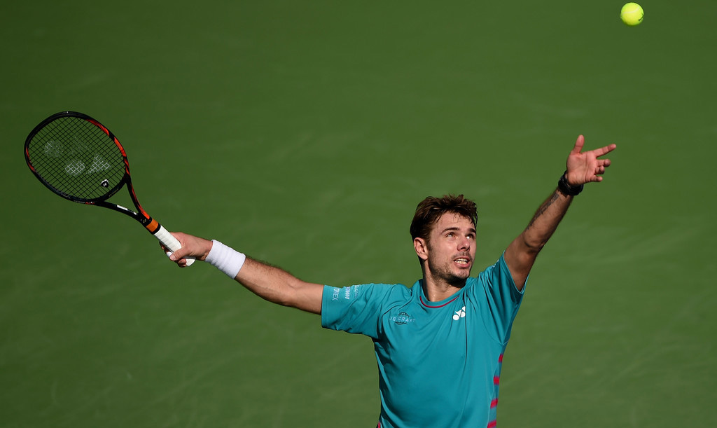 Stan Wawrinka en Indian Wells