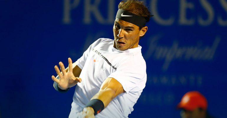 Rafael Nadal busca su título en Acapulco
